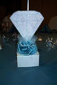 Diamond Wedding Party Decorations 11 Best Wedding Images On Pinterest Denim And Diamonds Birthday