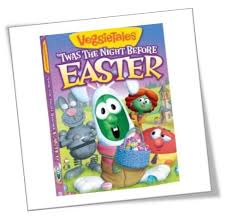 veggie tales easter veggie tales twas the before easter dvd review giveaway