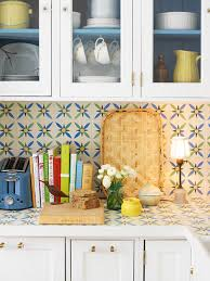 Sneak Peek Best Of Backsplashes  DesignSponge - Covering tile backsplash