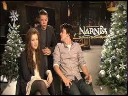 chronicles narnia interviews liam neeson georgie henley