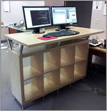 creative of standing office desk ikea my year at a standing desk