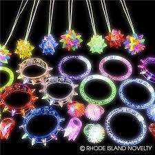48 pc light up jewelry assortment
