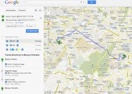Metro Route Map by See Delhi Metro Rail Stations And Train Routes On Google Maps