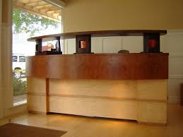 Stand Up Reception Desk Custom Made Reception Desk By Thom Scott Studio Custommade Com
