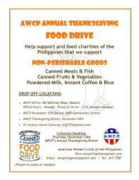 thanksgiving dinner help awcp thanksgiving dinner philippine primer