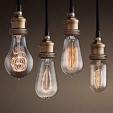 winsoon modern vintage industrial base socket hanging ceiling lamp