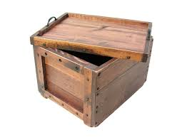 wooden crate wood crate wooden box with reversible lid serving tray keepsake