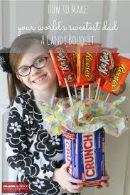 How To Make A Candy Bouquet How To Make A Candy Bouquet Gift For Father U0027s Day Momadvice