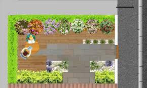 modele jardin contemporain jardin urbain créer un petit jardin de ville