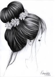 sketches of hair hair sketch by rinaarjulina10 on deviantart