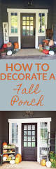 best 25 front porch decorating for fall ideas on pinterest