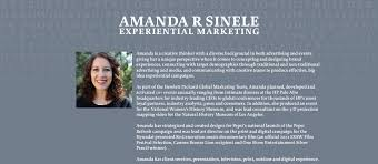 Experiential Marketing Resume Amandasinele Com