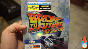 back to the future 30th anniversary blu ray collection unboxing