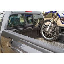 Tire Rack Motorcycle Black Widow Motorcycle Tie Down Rack For Pickups Truck Bed