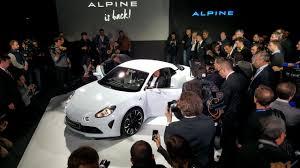 renault alpine vision concept en direct le concept alpine vision 2016 signe le retour d u0027alpine