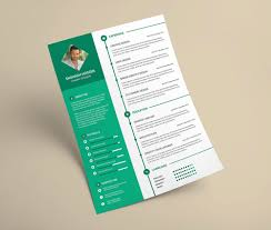 resume psd template free free clean resume design template in psd format good resume free clean resume design template in psd format