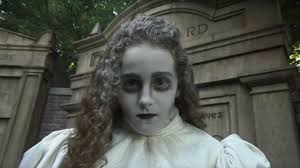 halloween diy haunted mansion u0027ghost bride u0027 makeup tutorial for