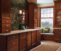 Stained Hickory Cabinets Arbor Shaker Style Cabinet Doors Homecrest Cabinetry