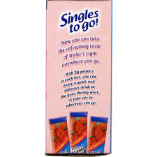 wyler s light singles to go nutritional information herballoveshop com singles to go cool raspberry low calorie soft