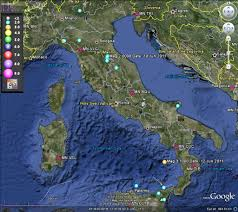 Google Maps Italy by Multiple 5 0 Quakes Campi Flegrei Page 1