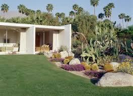 Home Landscape Marmol Radziner Kaufmann House