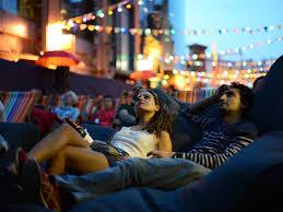 Backyard Movie Theatre by Backyard Cinema Film In London