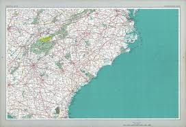 Blank Map Southeast States by The National Atlas Of The United States Of America Perry