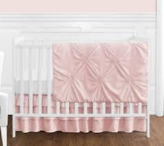 Solid Pink Crib Bedding Solid Crib Bedding Ebay