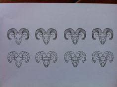 minimal zodiac tattoo aries lion and pisces line tattoo