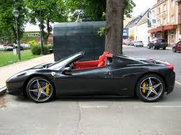 Ferrari 458 All Black - saudi ferrari 458 italia spider 2 gumball 3000 2013 team battery