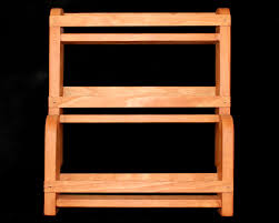 kitchen spice cabinet furniture large wooden spice rack with 30 jars for kitchen