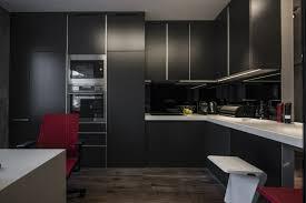 cuisine noir mat cuisine mat et cuisine et blanche 48 inspirations