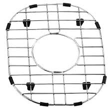 yosemite home decor 9 in x 11 5 in stainless steel sink grid