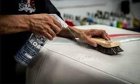 Marine Vinyl Spray Paint - chemical guys mbw10716 marine and boat heavy duty fabric u0026 vinyl