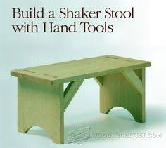 small wood projects free plans woodworking stools foot
