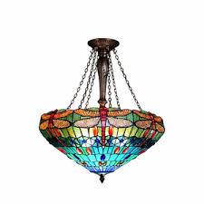 Glass Fruit Chandelier by Tiffany Pendant Lamps