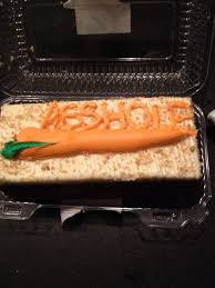 i kept bugging my fiancée to go get me a carrot cake she brought