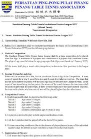 10 rules of table tennis date of competition 7th 14th 21st penang table tennis