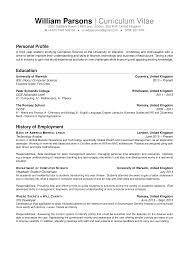 System Architect Resume Cv Personal Statement Architect