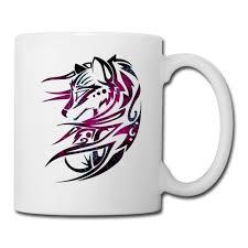 cosmic fox mug mug sykotix designs