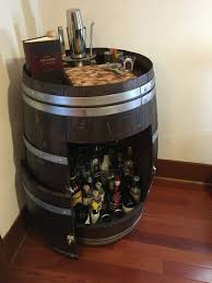 Liquor Cabinet Wine Barrel Liquor Cabinet Or The Never Ending Project Steph
