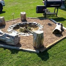 Firepit In Backyard Backyard Pits Ideas Backyard Pit Designs Diy
