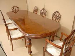 mahogany dining table and chairs antique furniture dining table