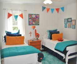 Light Blue Bedroom Love The by House Tour Orange U0026 Blue On Drake Pennant Flags Flag Banners