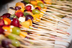 canapes fruit tasty fruit canapes stock image image of canape dessert 63253751