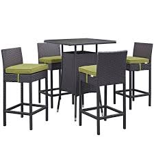 Patio Table With Built In Heater Bar Height Patio Sets Wayfair