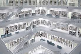 stuttgart city library picture of the day inside the stuttgart city library twistedsifter
