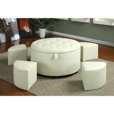 faux fur ottoman with storage charming white faux fur ottoman photos image youth inch cube living
