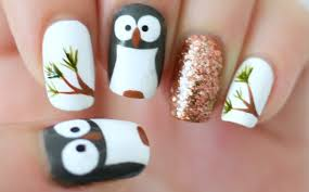 owl nails youtube