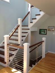 Stair Banisters And Railings Ideas Custom Reclaimed Stair Railings By Stone Creek Cabinetry Llc